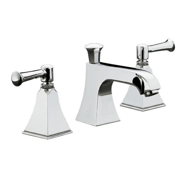 Kohler Faucet Installation : Kohler K-454-4S-CP Polished Chrome Memoirs Widespread Lavatory Faucet ...