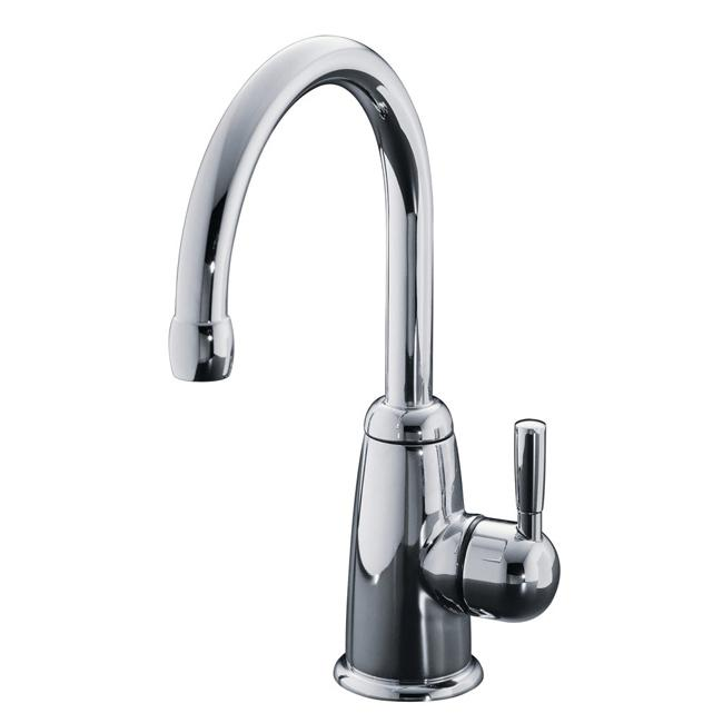 Kohler K-6665-CP Polished Chrome Wellspring Beverage Faucet With Contemporary Design