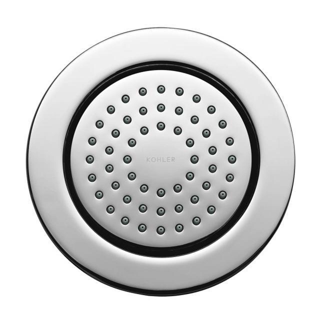Kohler K-8014-CP Polished Chrome Watertile Round 54-Nozzle Bodyspray