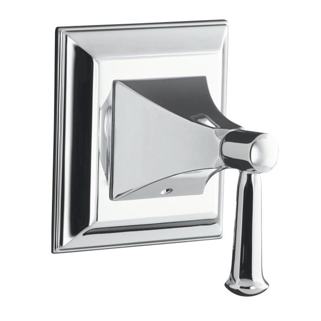 Kohler K-T10424-4S-CP Polished Chrome Memoirs Volume Control Valve Trim With Stately Design And Lever Handle, Valve Not Included