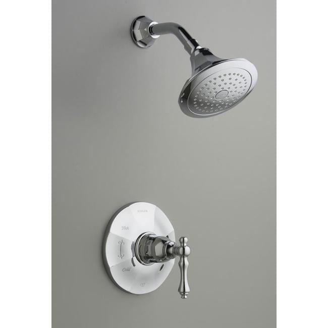 kohler k t13493 4 cp polished chrome kelston rite temp shower faucet