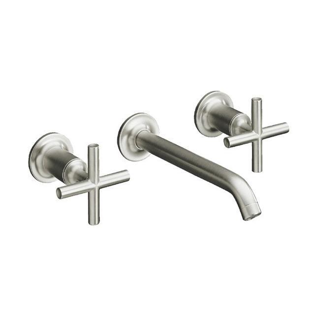 Shop Kohler K T14413 3 Bn Vibrant Brushed Nickel Purist Two Handle