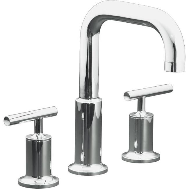 kohler k-t14428-4-cp polished chrome purist deck-mount high-flow