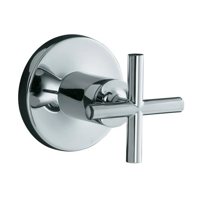 overstock faucets kitchen kohler k t14490 3 cp polished chrome purist volume 14490