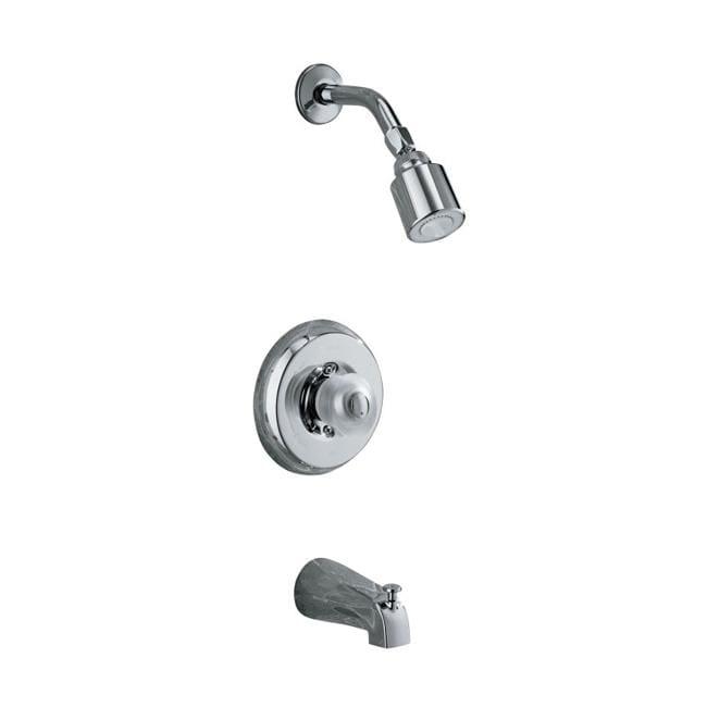 Kohler K-T15601-7-CP Polished Chrome Coralais Bath And Shower Mixing Valve Faucet Trim With Sculptured Acrylic Handle, Valve Not