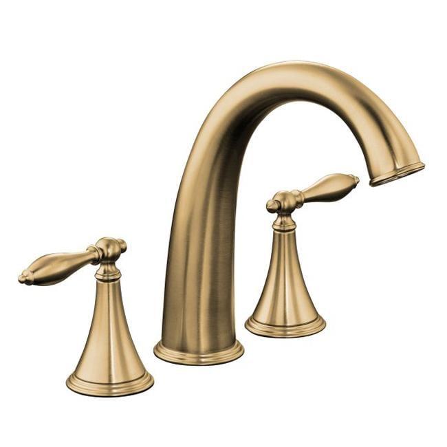 Kohler K-T314-4M-BV Vibrant Brushed Bronze Bath Faucet Trim