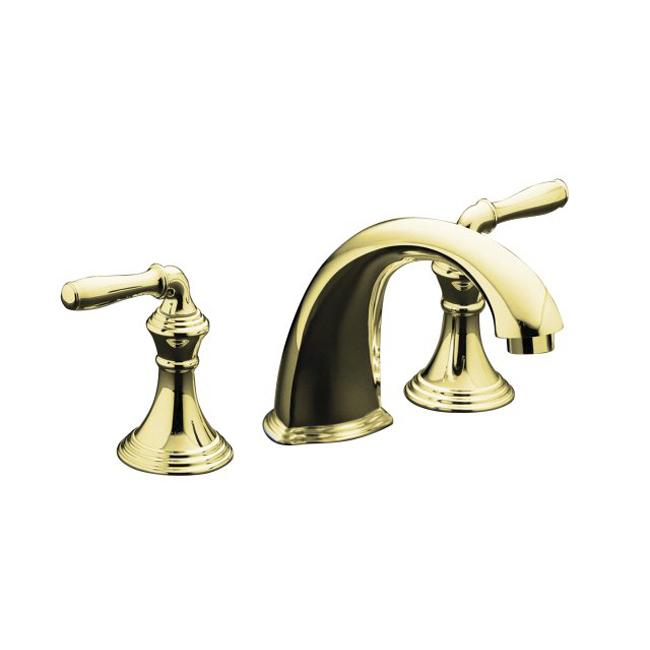 Shop Kohler K T398 4 Pb Vibrant Polished Brass Bath Faucet Trim