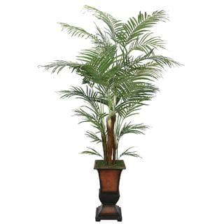 Laura Ashley 7-foot Artificial Areca Palm Tree