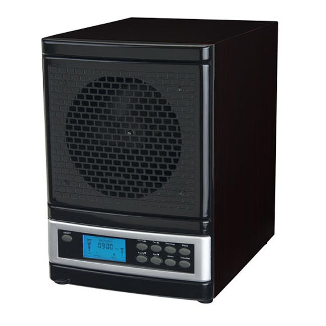 MicroLux Black 7-stage UV Ion Air Purifier with Remote