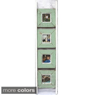 Recycled Wood 4-picture Ladder Frame (Thailand)