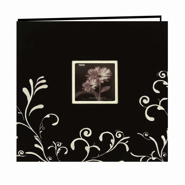 Pioneer Photo Albums Pioneer Scroll Embroidery Fabric Pos...