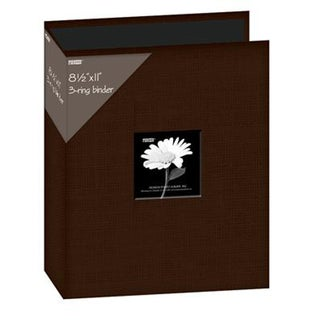 Pioneer 3-Ring Fabric 8.5 x 11-inch Album