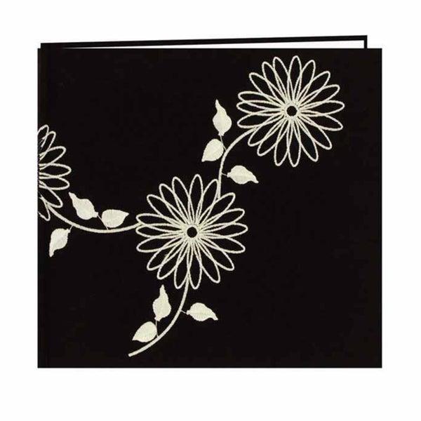 Pioneer Photo Black Fabric Memory Book (20 Bonus Pages)
