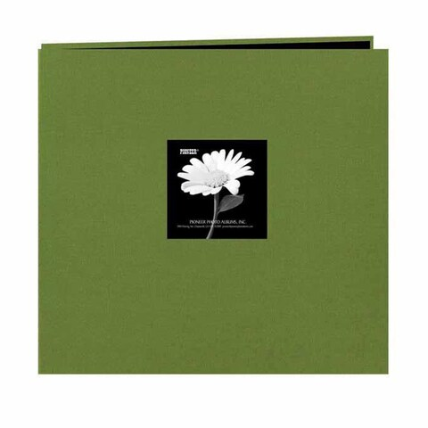 Pioneer Fabric Frame Post 12-inch Bound Album