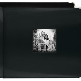 Pioneer 3-Ring Sewn Leatherette 12-inch Album