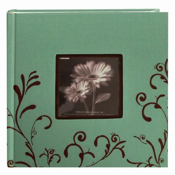 Pioneer 200-pocket Aqua Photo Album (Pack of 2)