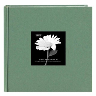 Pioneer Book-style Tranquil Aqua Frame Photo Albums (Pack of 2)