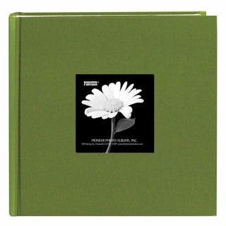 Pioneer Book-style Herbal Green Frame Photo Albums (Pack of 2)|https://ak1.ostkcdn.com/images/products/5599449/P13362721.jpg?impolicy=medium