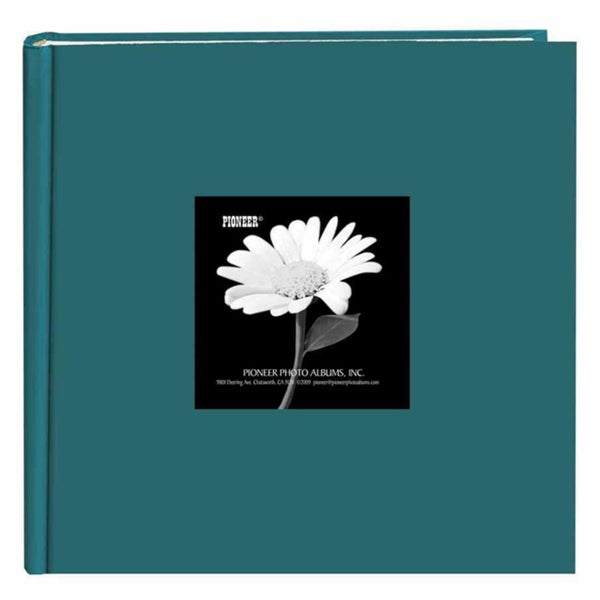 Pioneer Book-style Majestic Teal Frame Photo Albums (Pack of 2)