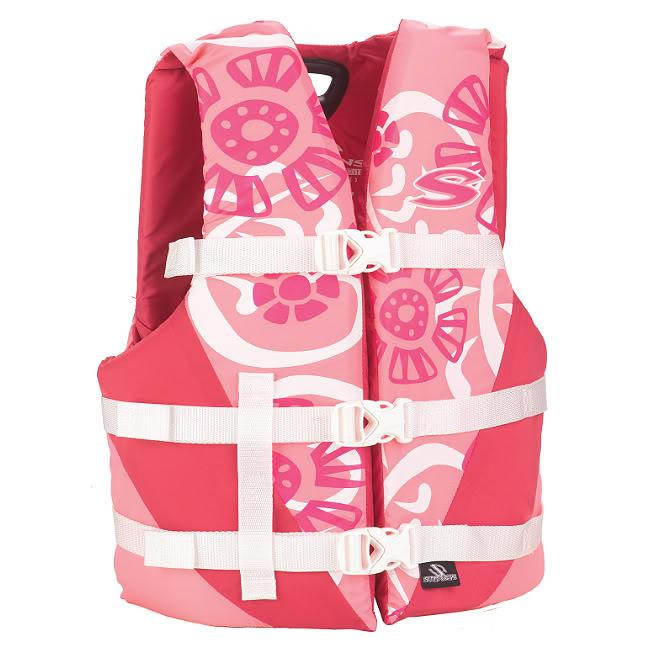 Closed-sided Youth Antimicrobial Watersport Life Jacket