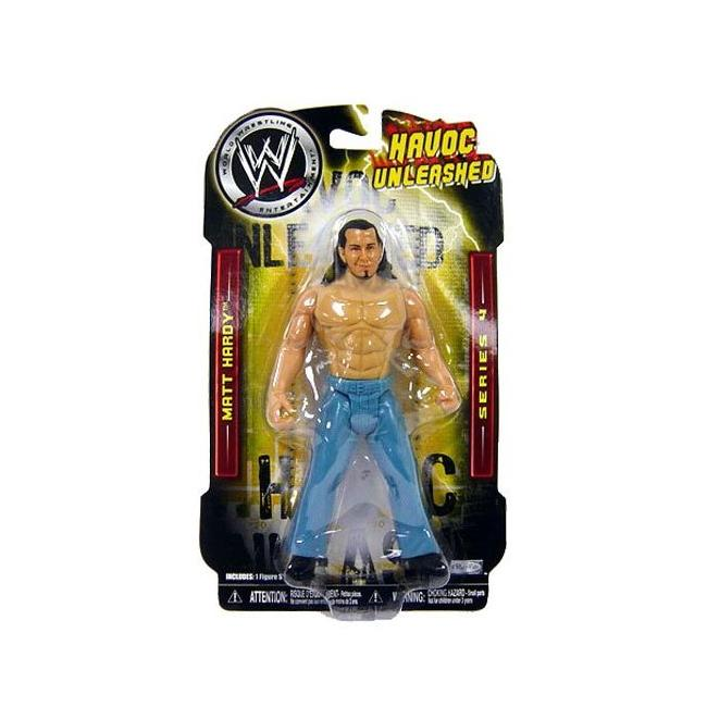 Jakks Pacific WWE Havoc Unleashed Matt Hardy Pro Wrestler Action Figure