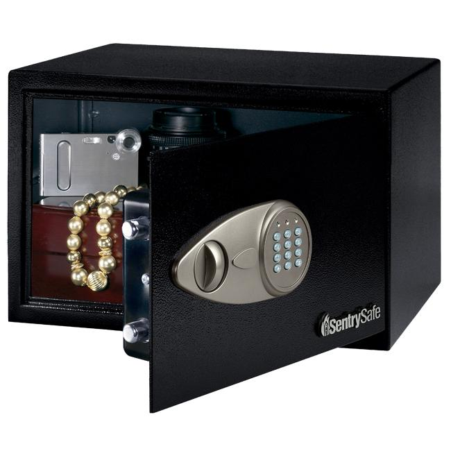 Sentry Security Safe with Electronic Lock and Override Key