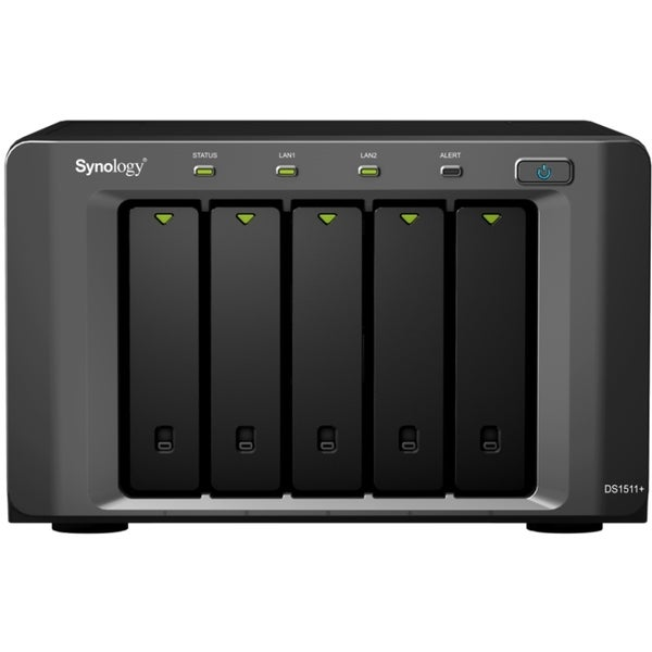 Synology DiskStation DS1511+ Network Storage Server
