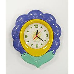 Flower Children's Night Light Clock