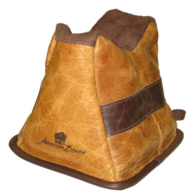 American Bison Leather Shooting Rest - Thumbnail 0