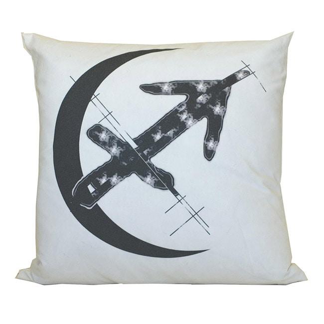 Sagittarius Zodiac Sign Cotton Decorative Pillow