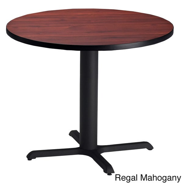 shop mayline bistro dining height 42 inch round table free shipping today. Black Bedroom Furniture Sets. Home Design Ideas