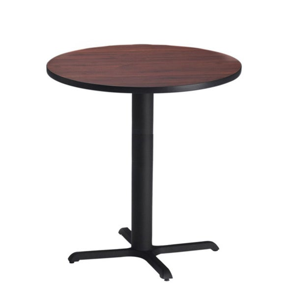 Mayline Bistro Bar Height 36 Inch Round Table   Free Shipping Today    Overstock.com   13364110