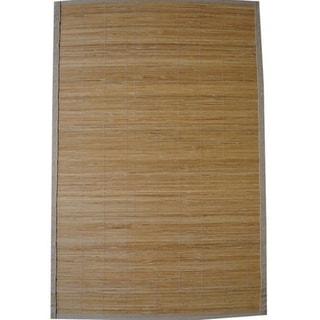 Handmade Natural Rayon from Bamboo Rug - 1'9 x 2'10