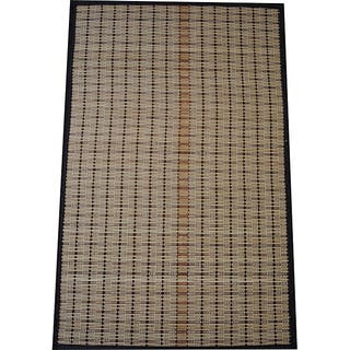 Asian Hand-woven Beige/ Brown Rayon from Bamboo Rug (1'9 x 2'8)|https://ak1.ostkcdn.com/images/products/5601271/P13364160.jpg?impolicy=medium
