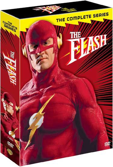 The Flash: The Complete Series (DVD)