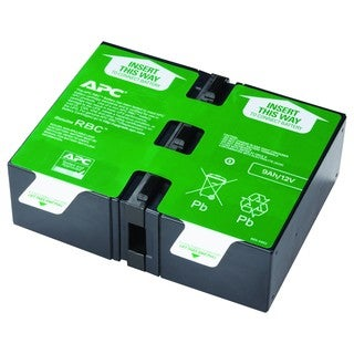 APC by Schneider Electric APCRBC124 UPS Replacement Battery Cartridge