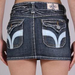 Laguna Beach Women's 'Seal Beach' Indigo Denim Mini Skirt