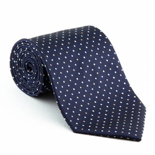 Platinum Ties Men's Patterned 'Blue Diplomat' Tie|https://ak1.ostkcdn.com/images/products/5603008/Platinum-Ties-Mens-Patterned-Blue-Diplomat-Tie-P13365542.jpg?impolicy=medium