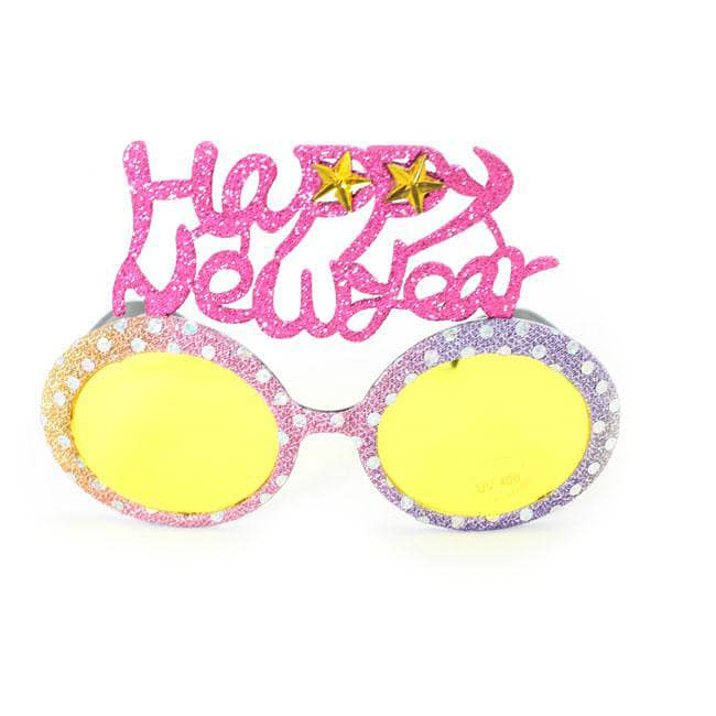 Women's 2354 Fashion Happy New Year Sunglasses