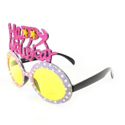 Women's 2354 Fashion Happy New Year Sunglasses - Thumbnail 1