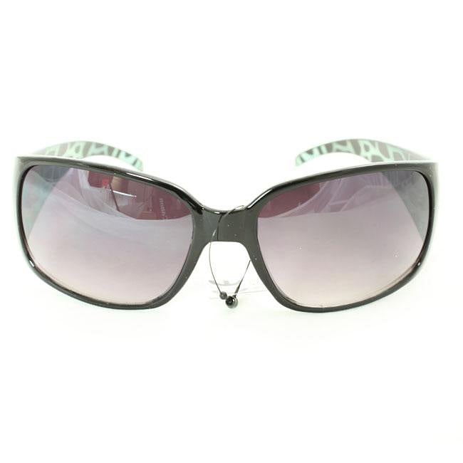 Women's 8827 Leopard-Print Black Fashion Sunglasses