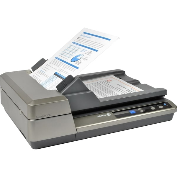 Xerox DocuMate 3220 Sheetfed Scanner - 600 dpi Optical