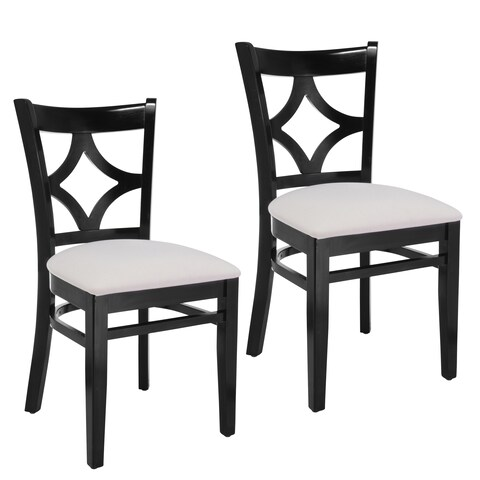 Diamond Back Dining Chairs (Set of 2)