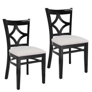 Diamond Back Side Chairs (Set of 2)
