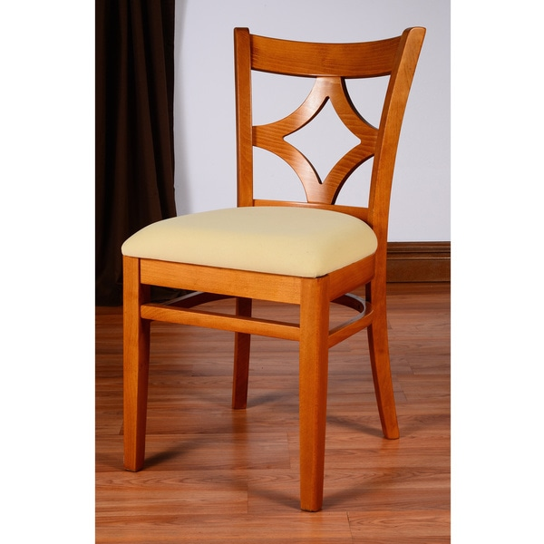 Diamond Back Dark Dining Chairs (Set of 2)