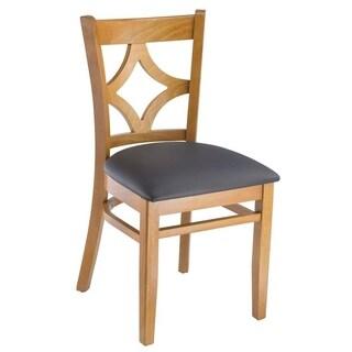 Diamond Back Dark Dining Chairs (Set of 2)