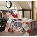 Greenland Home Fashions Amelia 5-piece Quilt Bonus Set