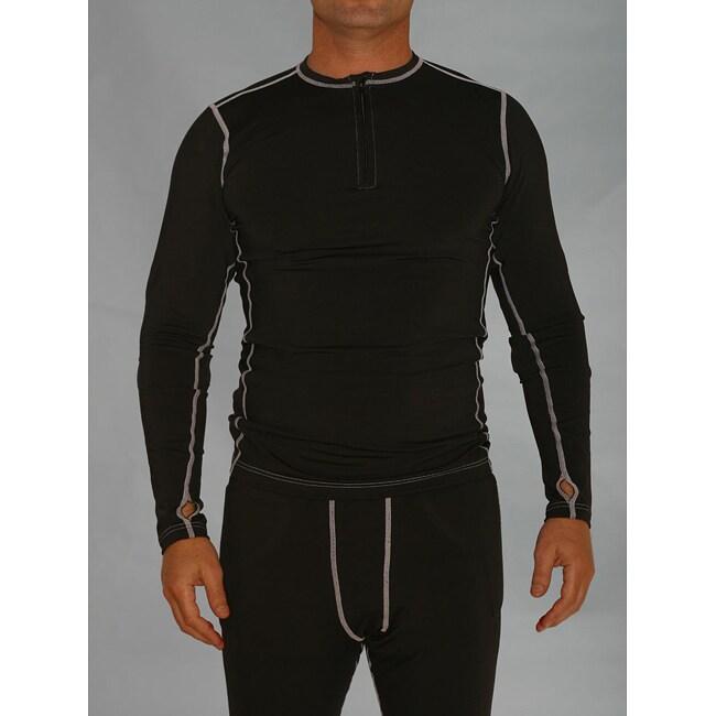 Pro-Tec Premium Men's Padded Base Layer Shirt