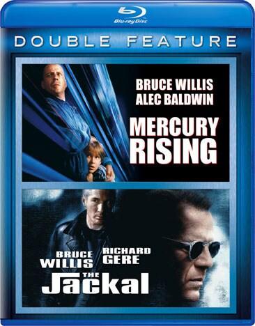 Mercury Rising/The Jackal (Blu-ray Disc)
