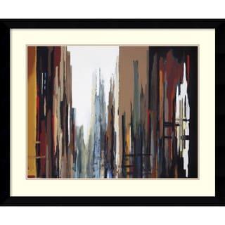 Gregory Lang 'Urban Abstract No. 165' Framed Art Print